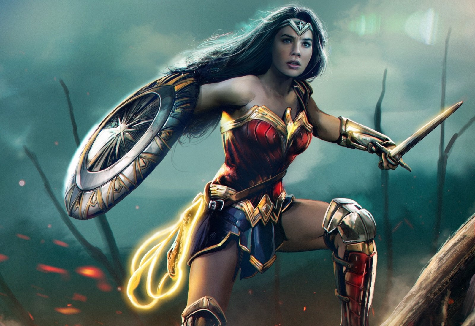 123 Wonder Woman Hd Wallpapers Background Images Wallpaper