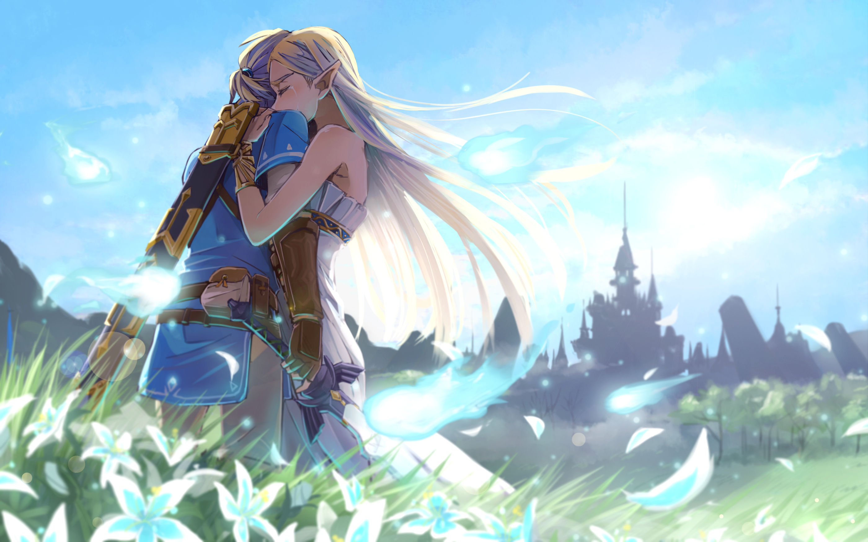 The Legend of Zelda Breath of the Wild Full HD Wallpaper and
