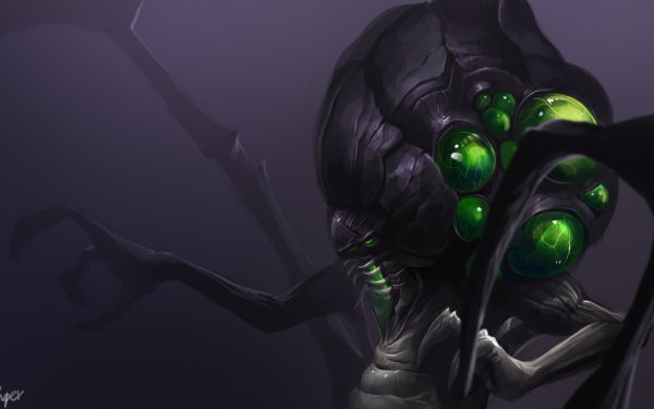 Video Game Heroes of the Storm Abathur Creature HD Wallpaper | Background Image