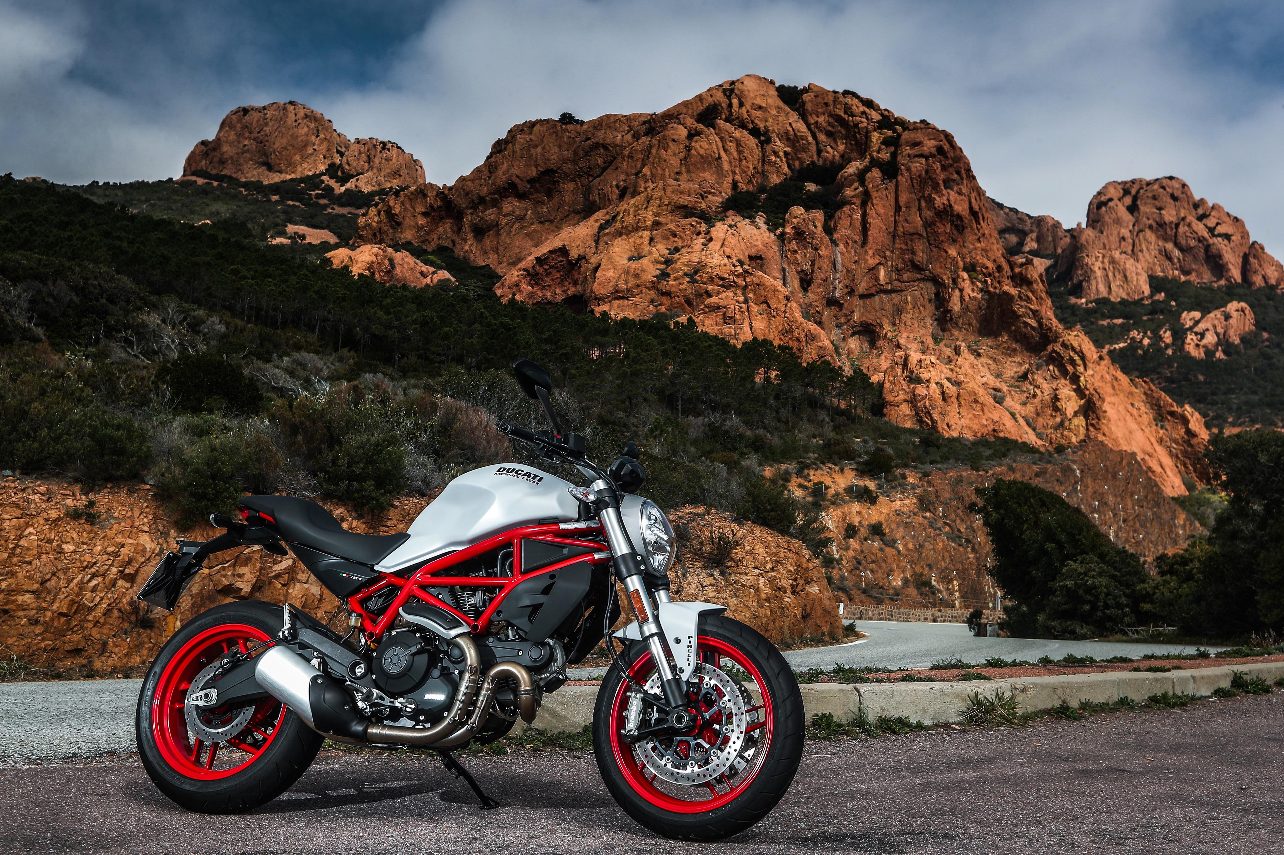 Ducati Monster 4k Ultra HD Wallpaper