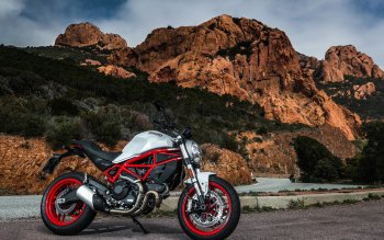8 Ducati Monster HD Wallpapers