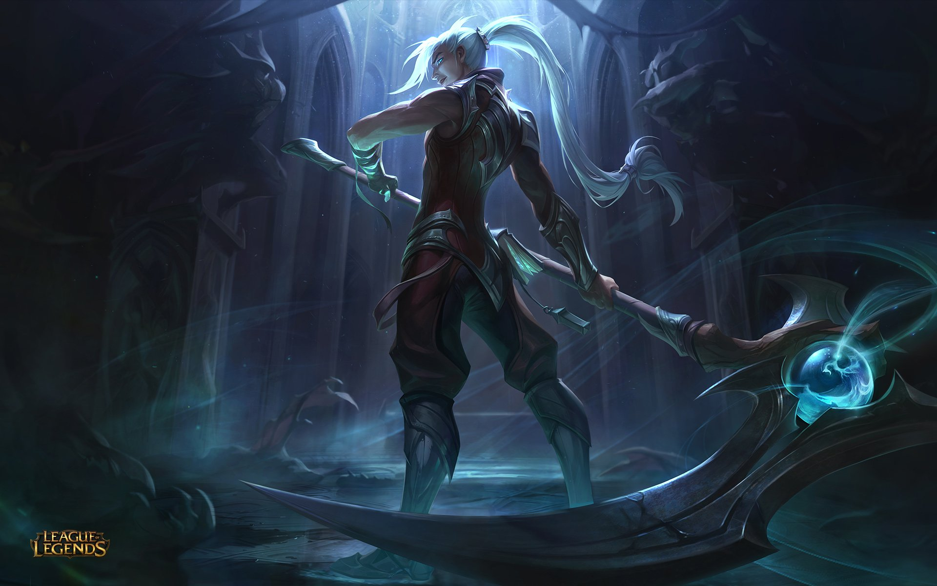 League Of Legends Wallpapers Das Splash Arts Dos Guardioes Das