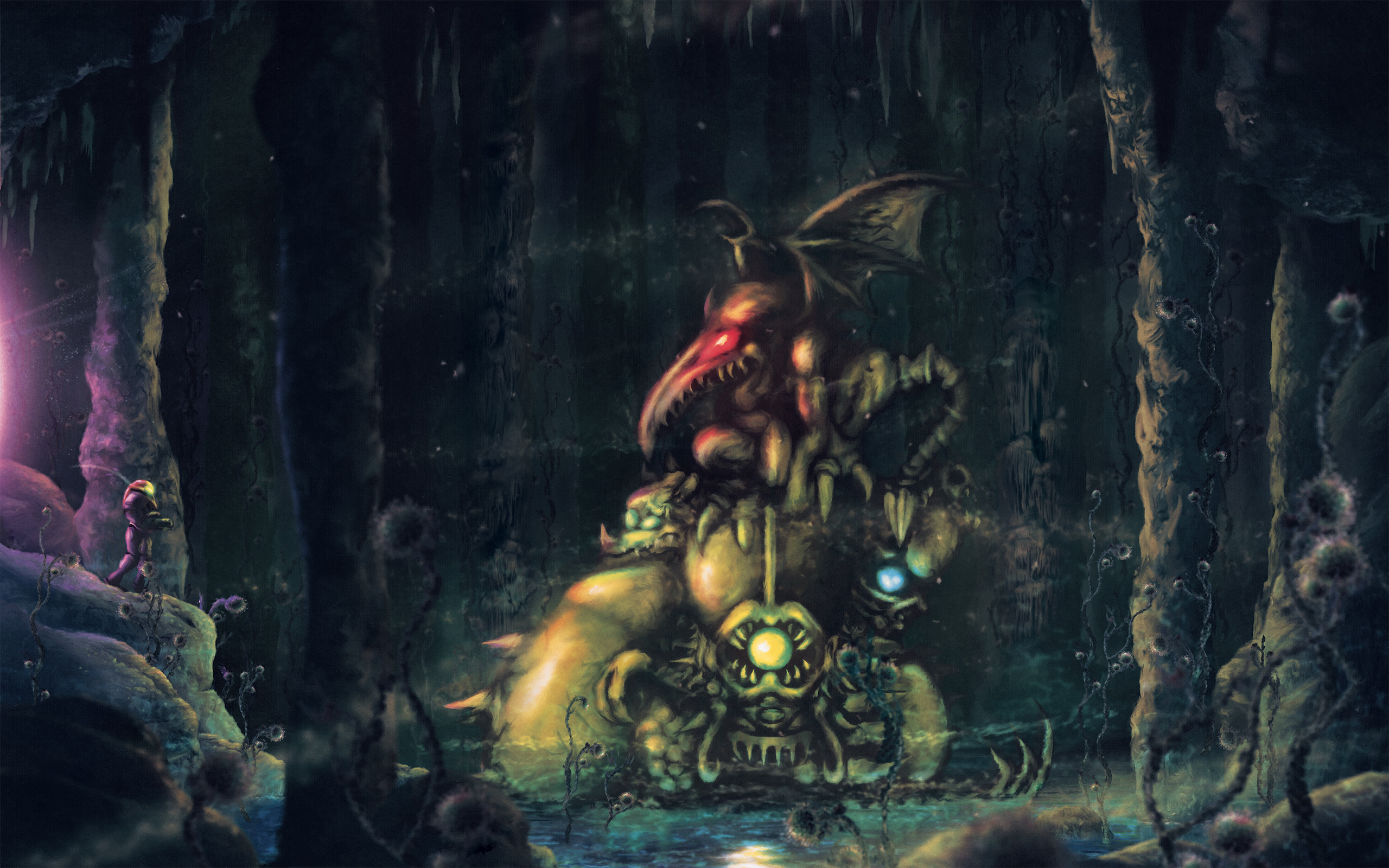 11 Super Metroid HD Wallpapers