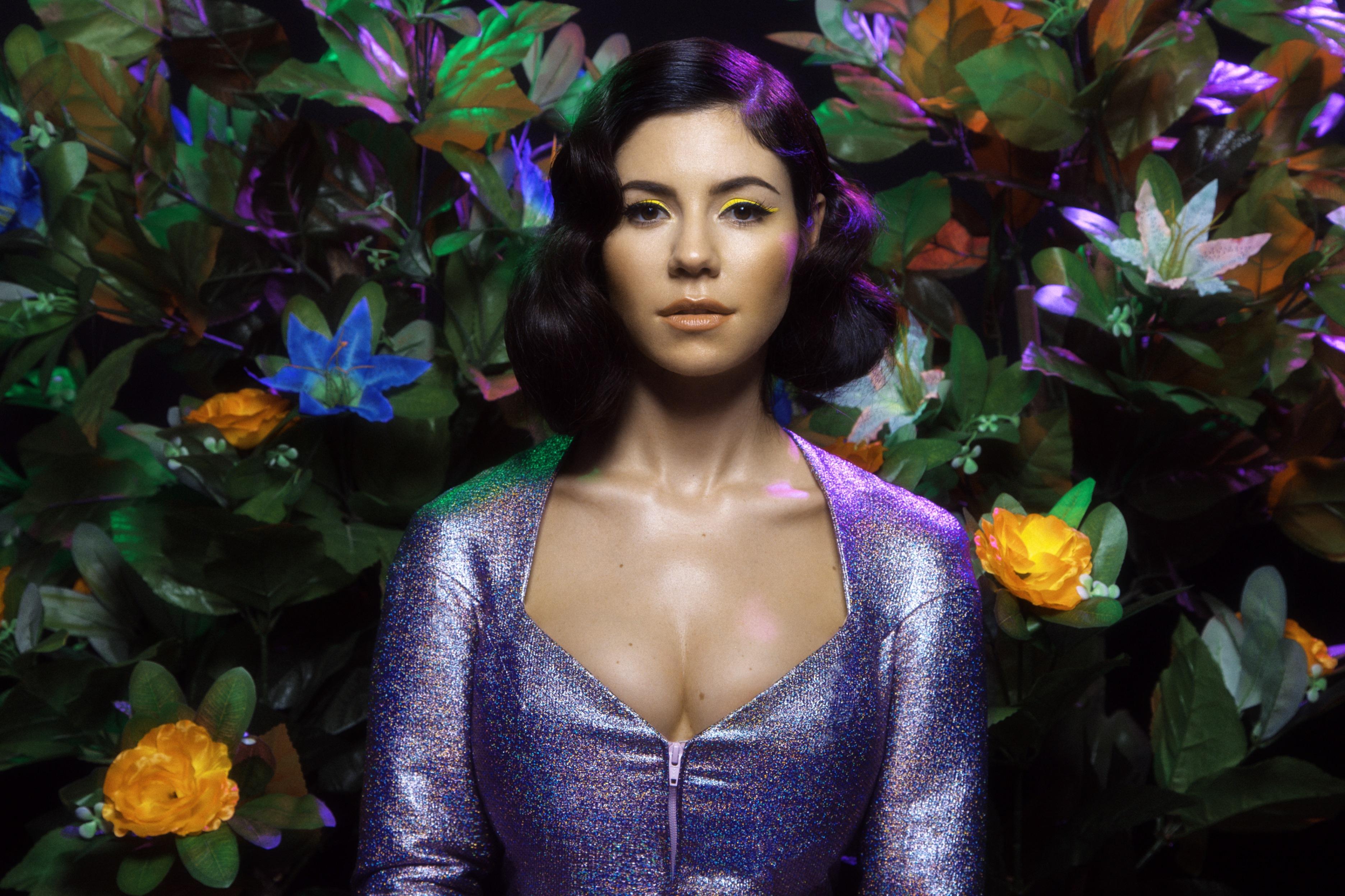 Marina And The Diamonds Full HD Wallpaper Background Image