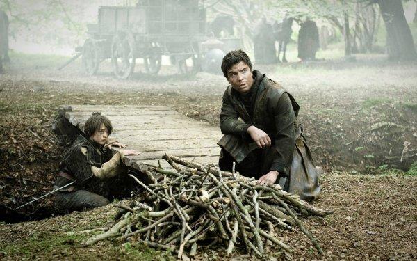 TV Show Game Of Thrones Arya Stark Maisie Williams Gendry Joe Dempsie HD Wallpaper | Background Image