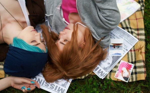Women Cosplay Max Caulfield Chloe Price Life Is Strange HD Wallpaper | Background Image