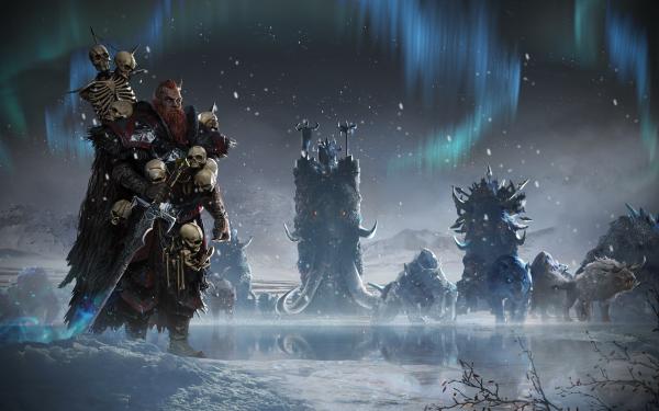 Video Game Total War: Warhammer Total War Fantasy Norsca HD Wallpaper | Background Image
