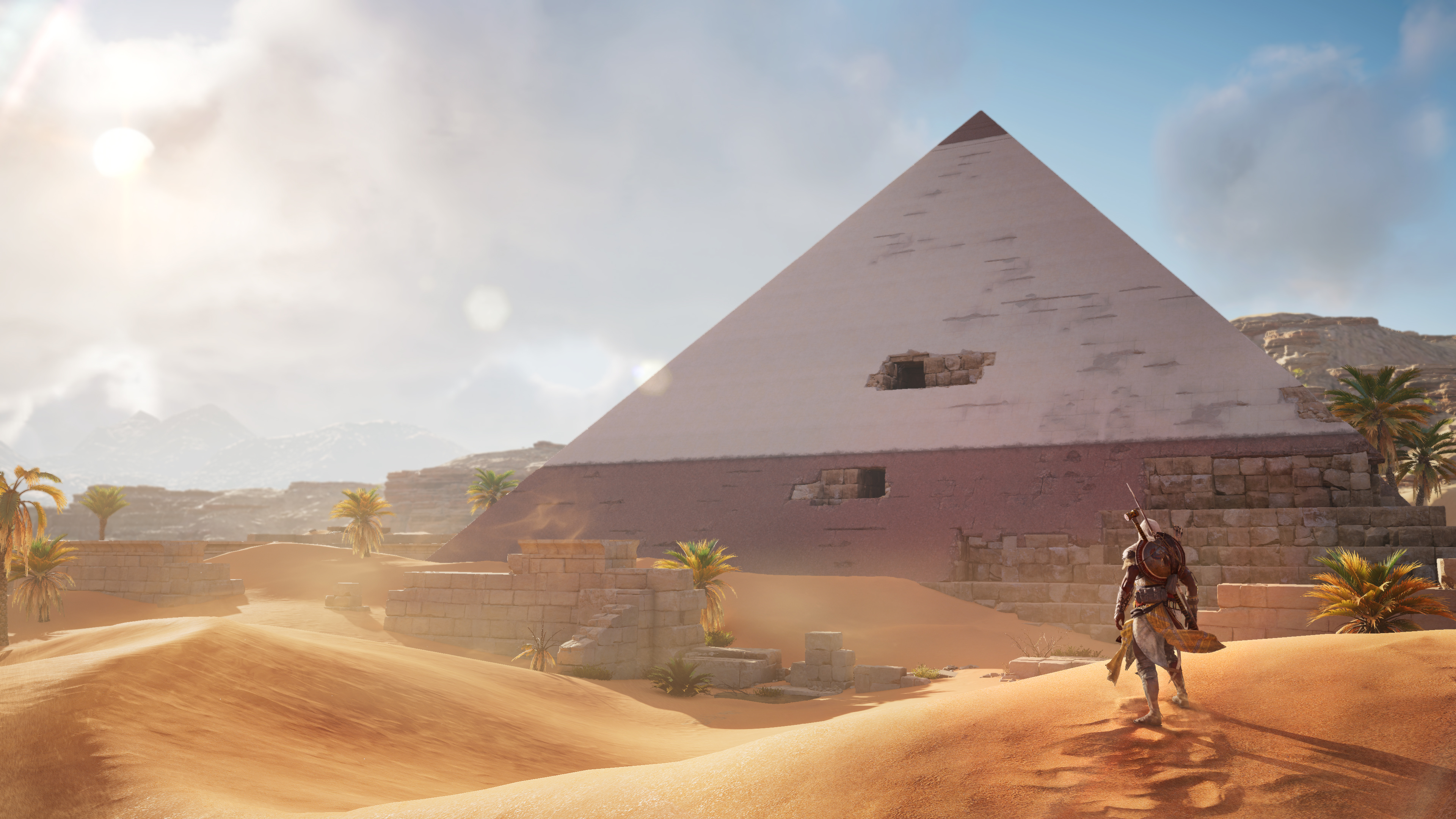 Assassin S Creed Origins 4k Ultra Hd Wallpaper Background Image