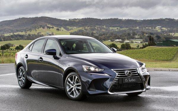 Véhicules Lexus IS Lexus Voiture Blue Car Luxury Car Fond d'écran HD | Arrière-Plan
