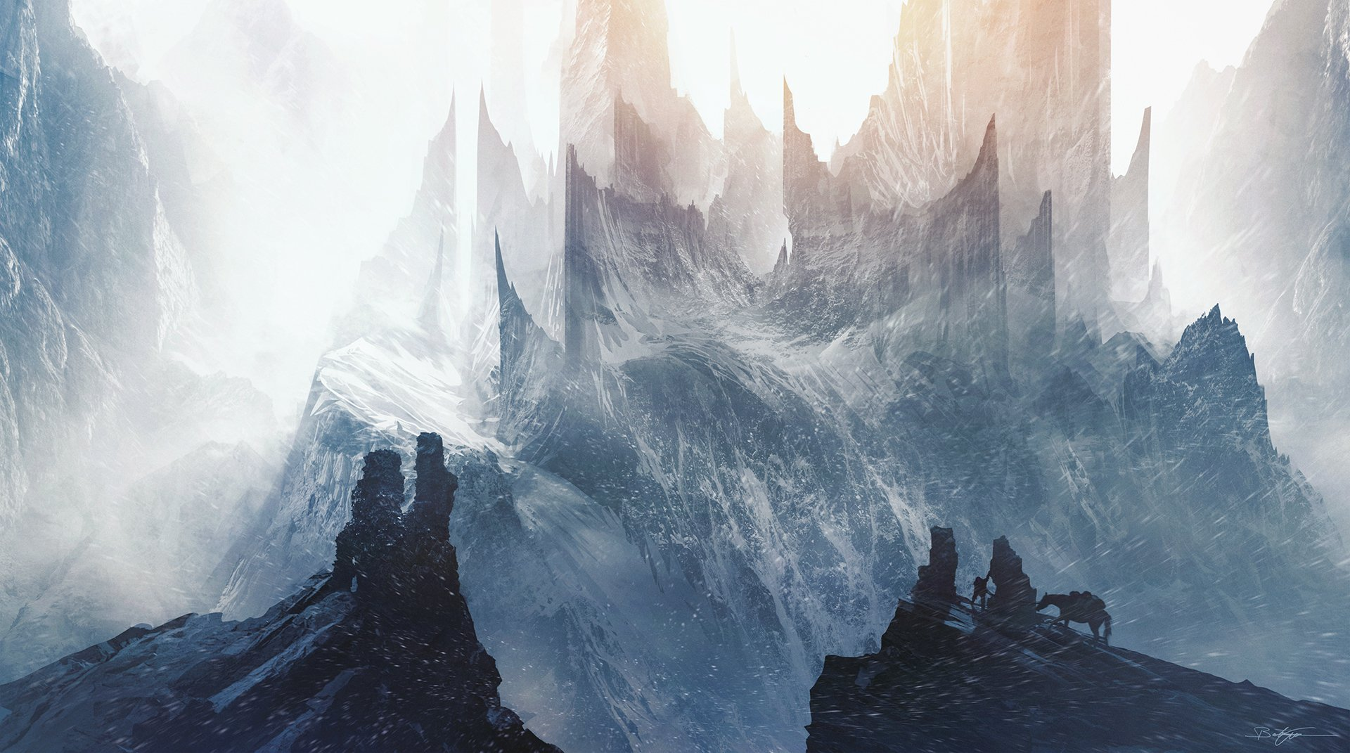 Fantasy - Landscape  Mountain Fantasy Wallpaper