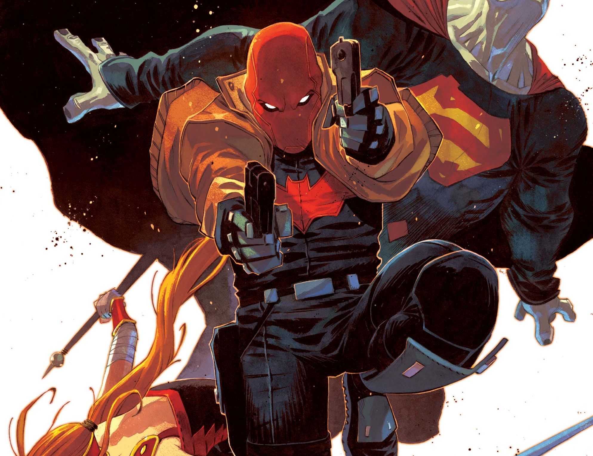 Red Hood And The Outlaws Hd Wallpaper Background Image
