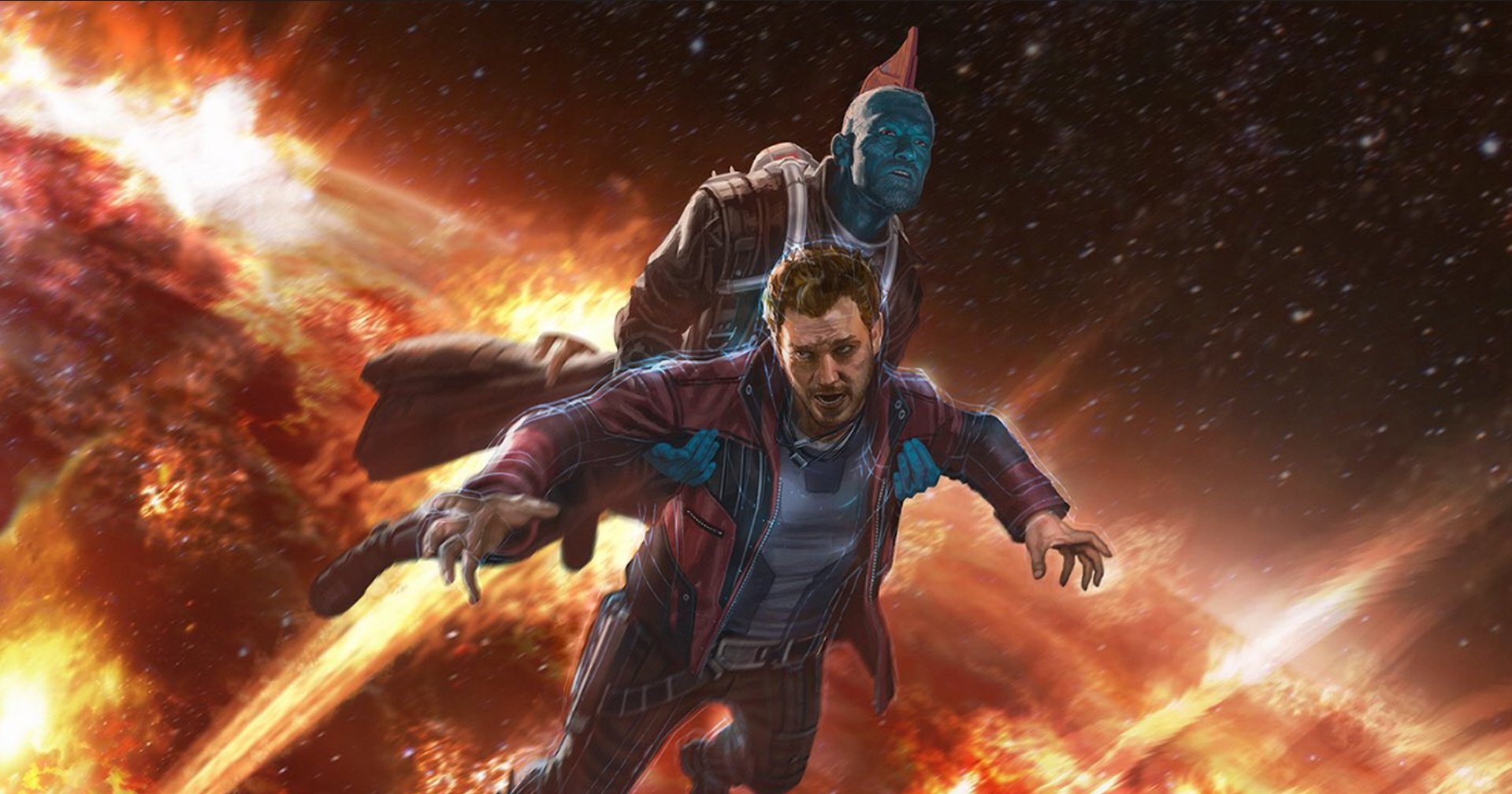 Movie - Guardians of the Galaxy Vol. 2  Yondu Udonta Star Lord Marvel Comics Wallpaper