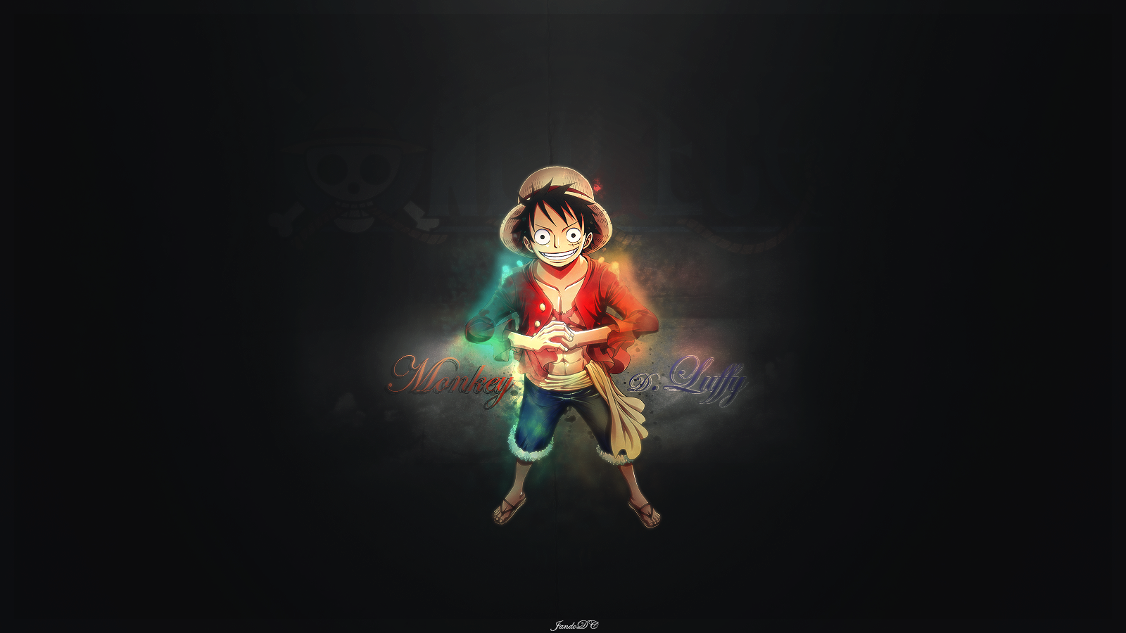 The Colours Of Luffy Wallpaper And Background Image
