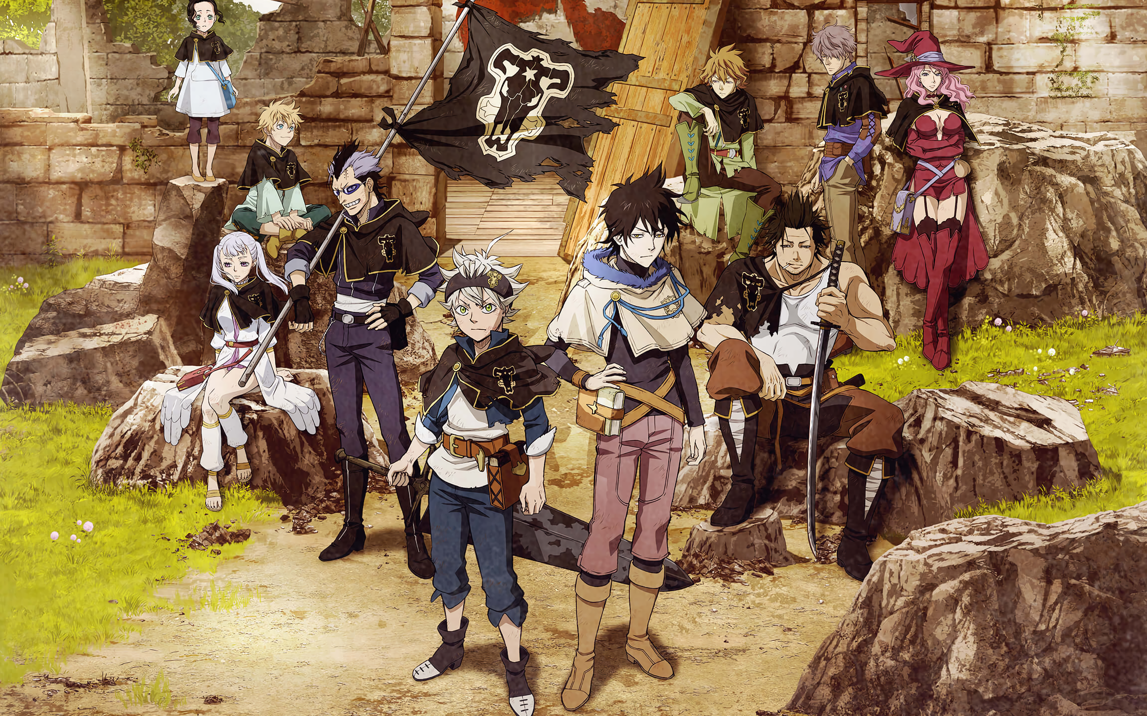 Black Clover HD Wallpaper