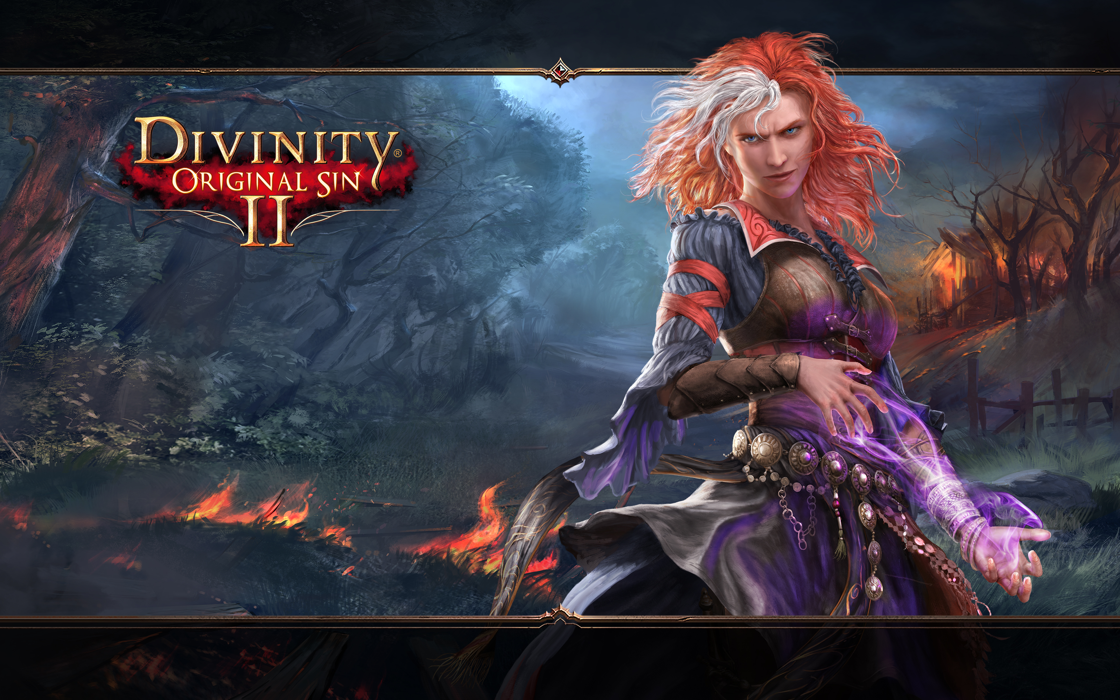 Divinity Original Sin Ii 4k Ultra Fondo De Pantalla Hd