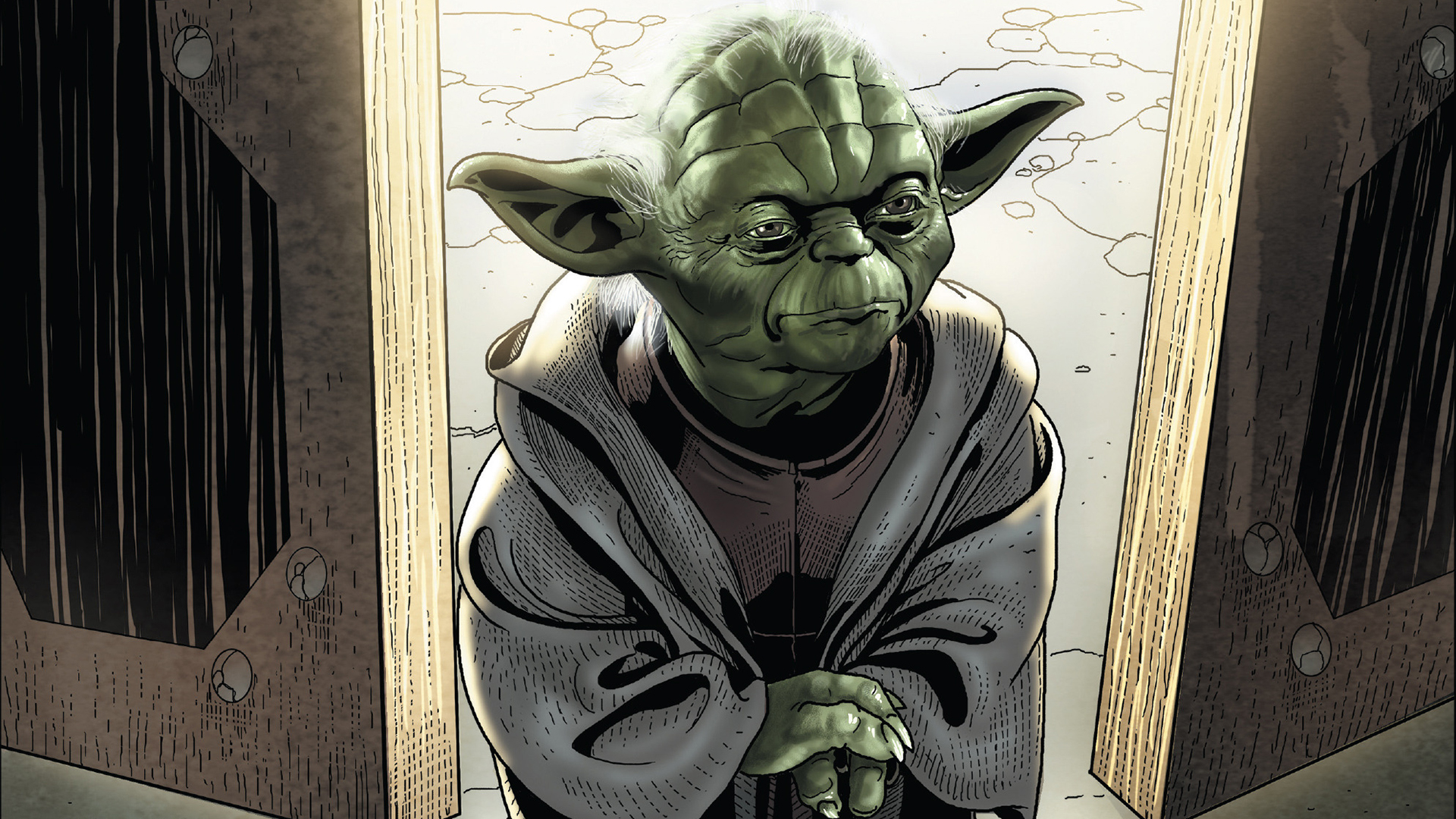 Master Yoda Hd Wallpaper Background Image 1920x1080 Id 871621 Wallpaper Abyss