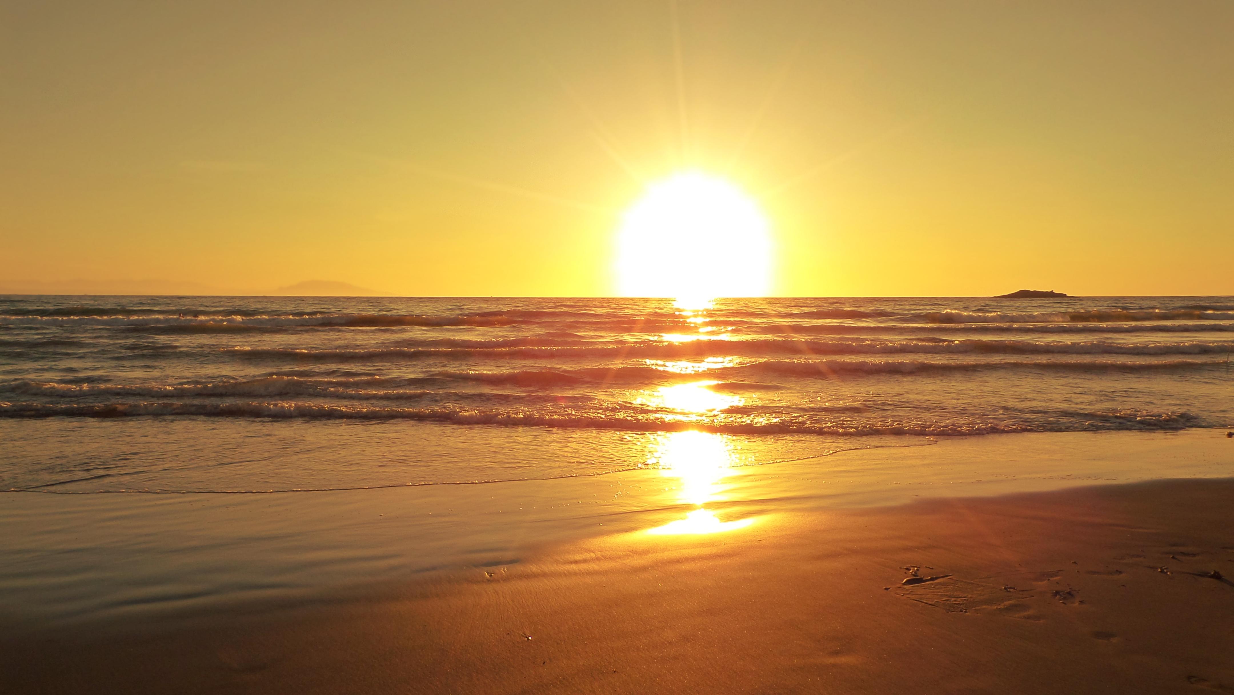 Golden Sunset Algiers 4k Ultra Hd Wallpaper Background Image 4320x2432 Wallpaper golden sky sea sunset horizon