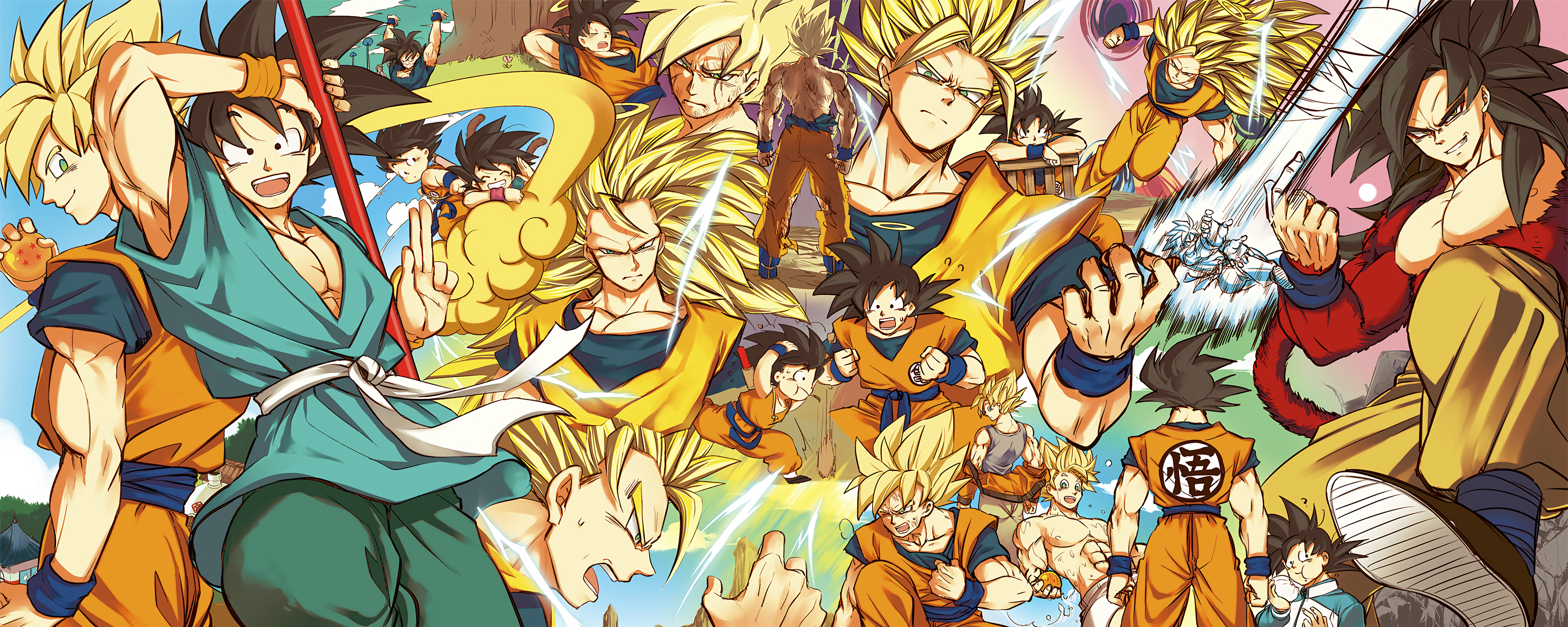 Son Goku Full HD Wallpaper And Background Image
