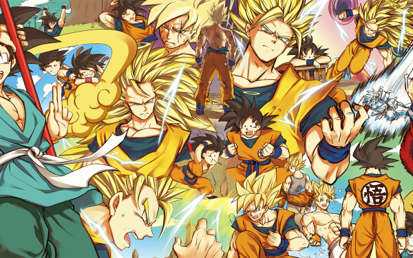 Anime Dragon Ball Z Dragon Ball Goku Dragon Ball GT Super Saiyan 4 Super Saiyan 3 Super Saiyan Black Hair HD Wallpaper | Background Image