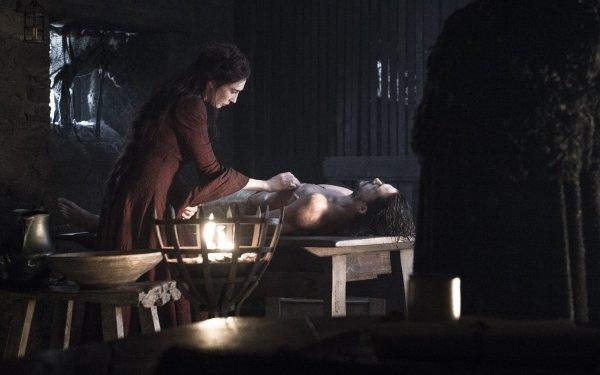 TV Show Game Of Thrones Melisandre Carice van Houten Jon Snow Kit Harington HD Wallpaper | Background Image