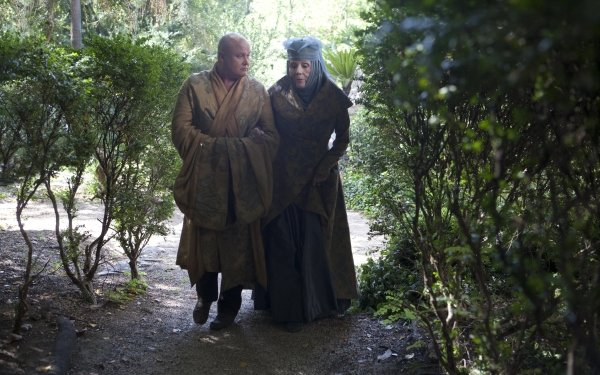 TV Show Game Of Thrones Olenna Tyrell Lord Varys Conleth Hill Diana Rigg HD Wallpaper | Background Image