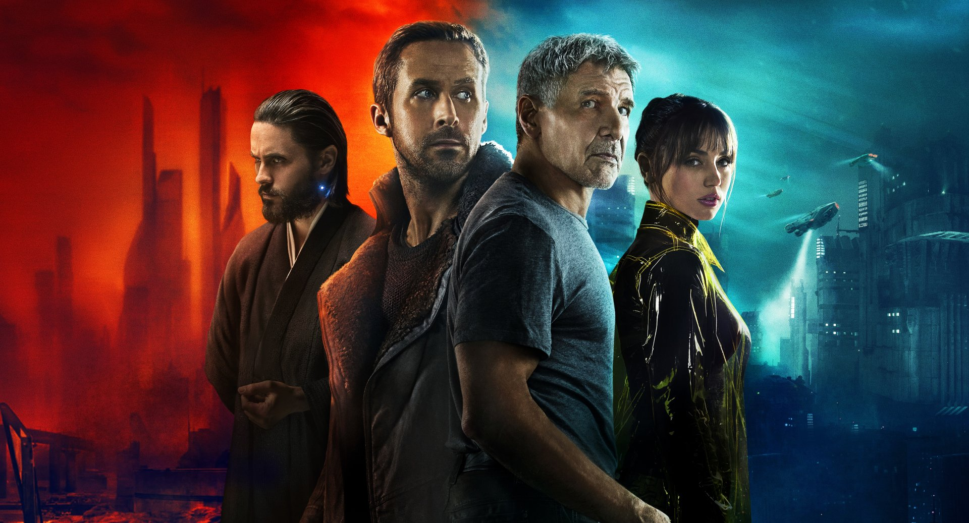 Movie - Blade Runner 2049  Rick Deckard Niander Wallace Blade Runner Harrison Ford Ana de Armas Jared Leto Ryan Gosling Officer K (Blade Runner 2049) Joi (Blade Runner 2049) Wallpaper