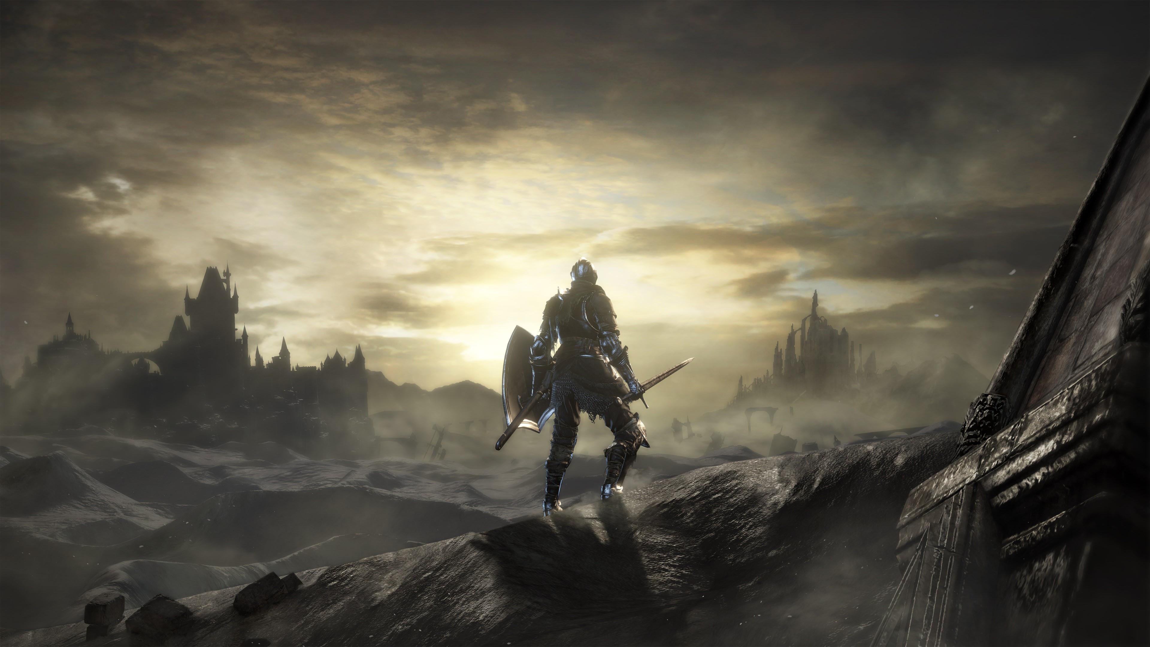 Dark Souls III 4k Ultra Papel de Parede HD | Plano de ...