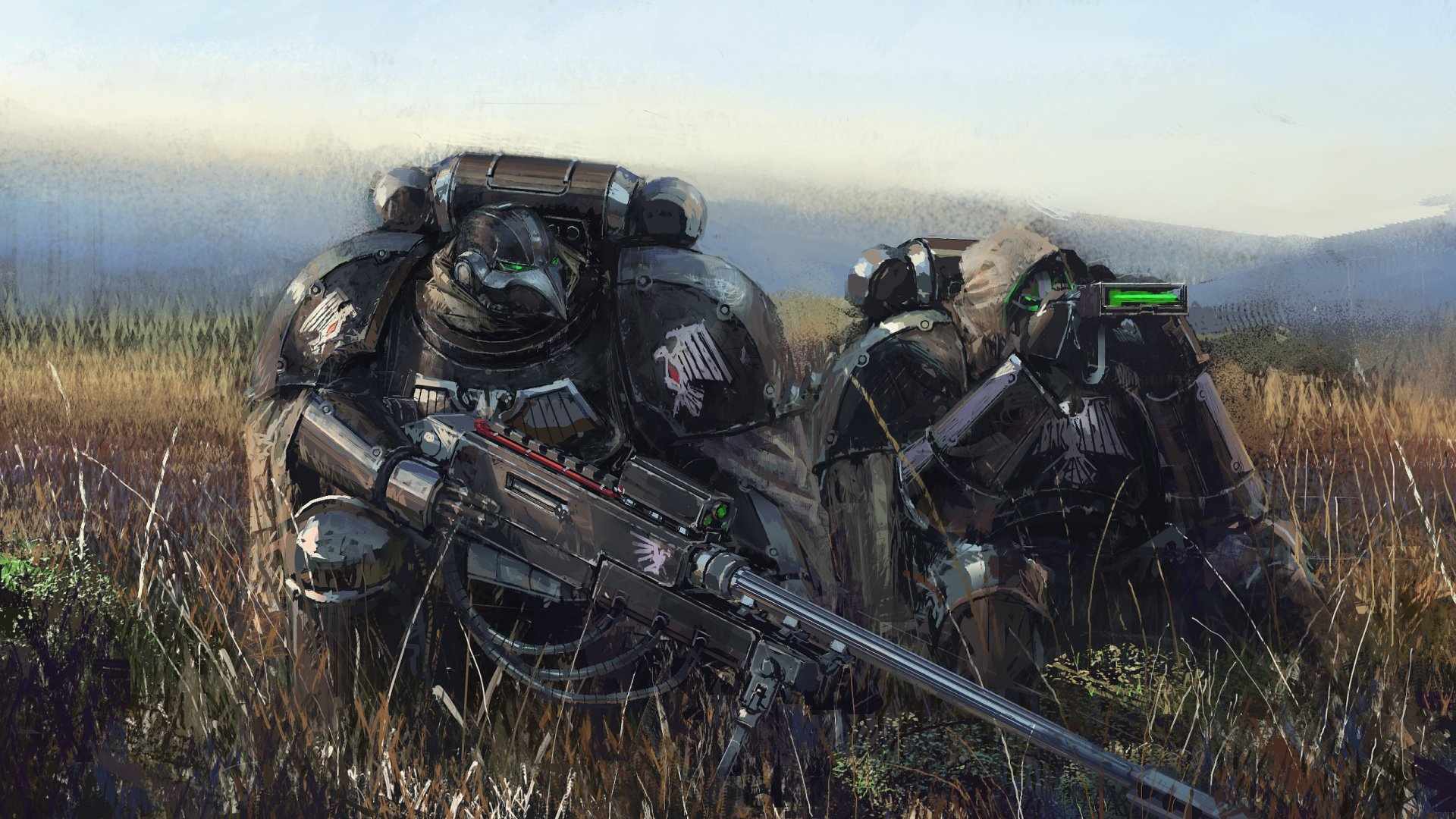Video Game - Warhammer 40K  Soldier Armor Sniper Sniper Rifle Warrior Wallpaper