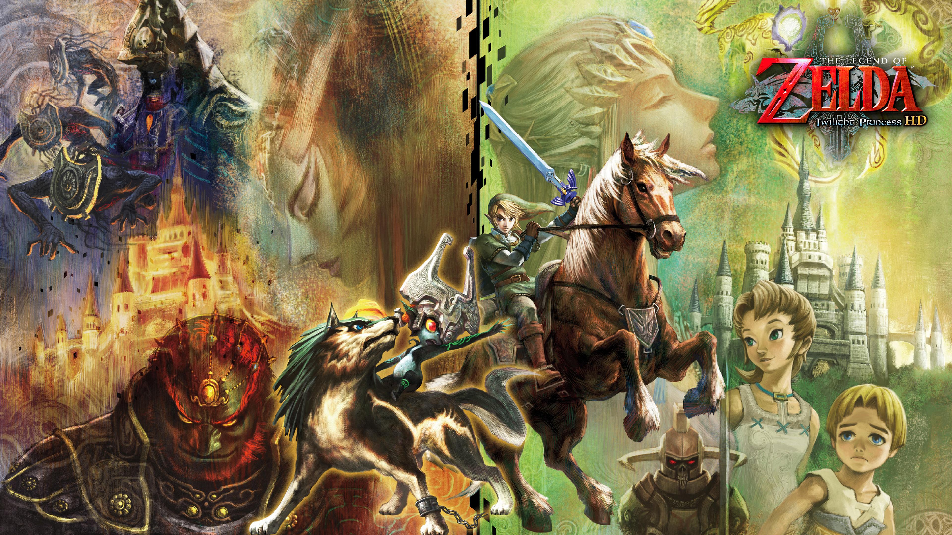 7 4k Ultra Hd The Legend Of Zelda Twilight Princess Wallpapers