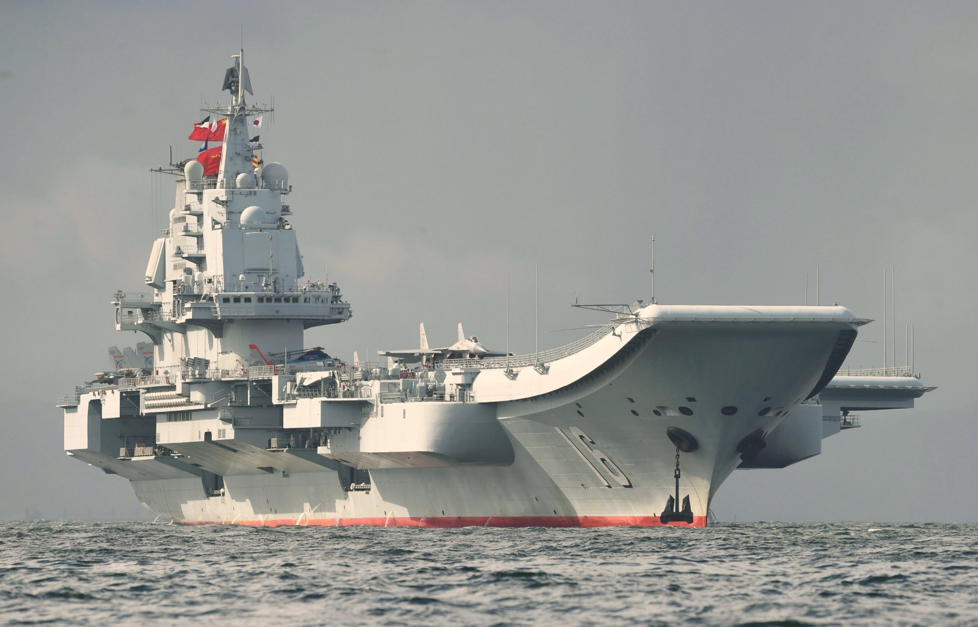 Military - Chinese aircraft carrier Liaoning  Warship Aircraft Carrier Wallpaper