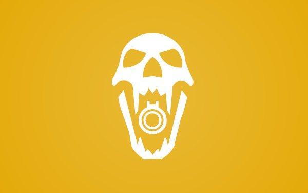Video Game Tom Clancy's Rainbow Six: Siege Blackbeard Skull Operation Dust Line Yellow Minimalist HD Wallpaper   Background Image