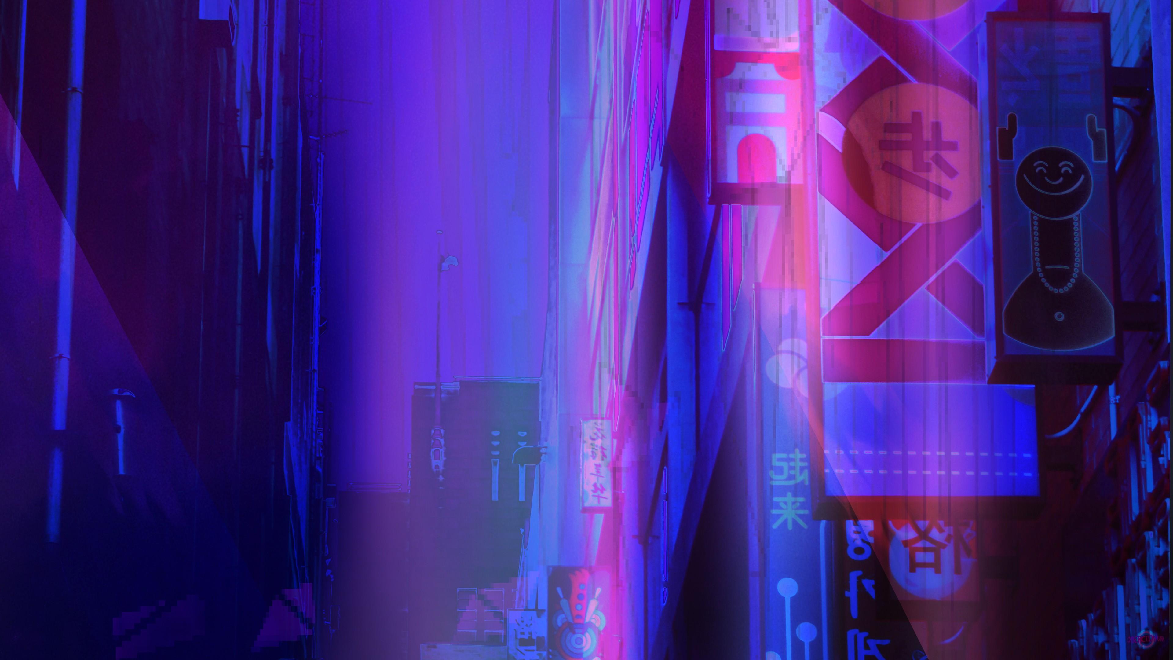 Cyberpunk 4k Ultra Hd Wallpaper Background Image 3840x2160 Id 880404 Wallpaper Abyss