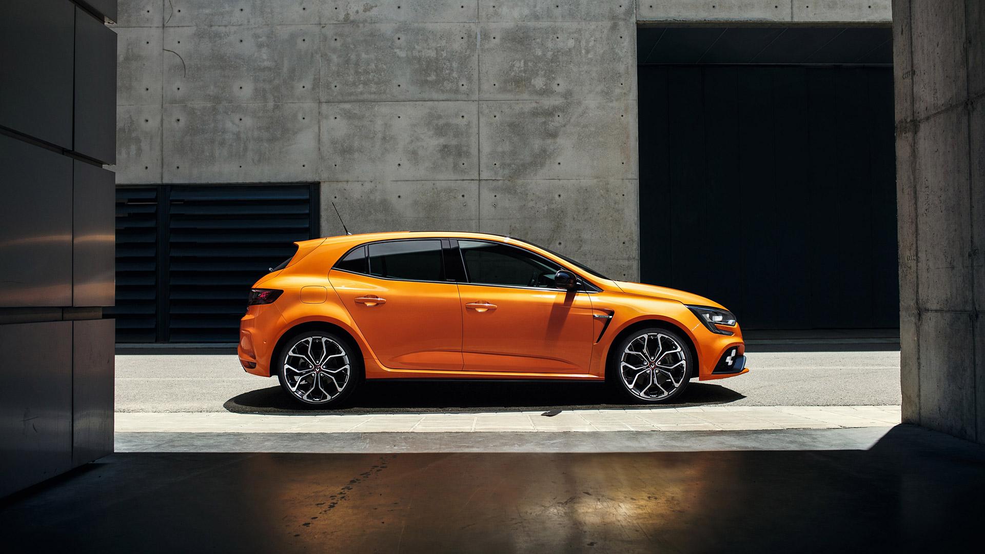 2018 Renault Megane Rs Hd Wallpaper Background Image 1920x1080 Hd wallpaper renault megane orange car