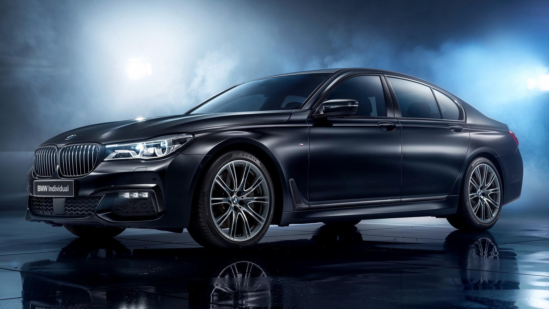 2017 BMW 7 Series Black Ice Edition HD Wallpaper ...