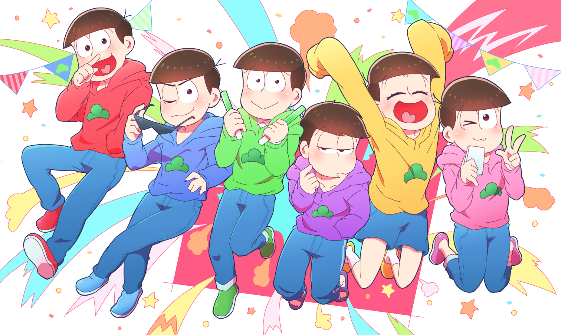 21 Osomatsu San Hd Wallpapers Background Images