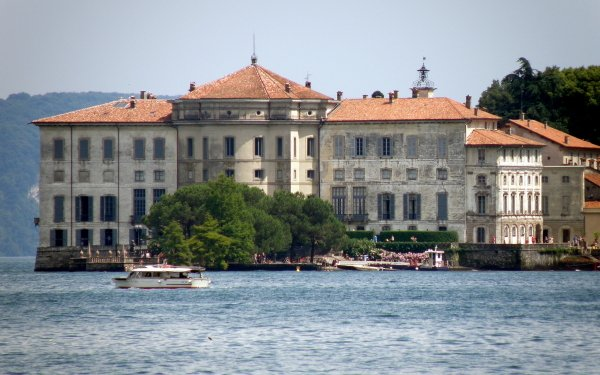 Man Made Verbania Towns Italy Palace HD Wallpaper   Background Image