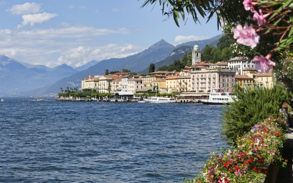 Man Made Town Towns Lombardy Italy Bellagio Lake Como HD Wallpaper   Background Image