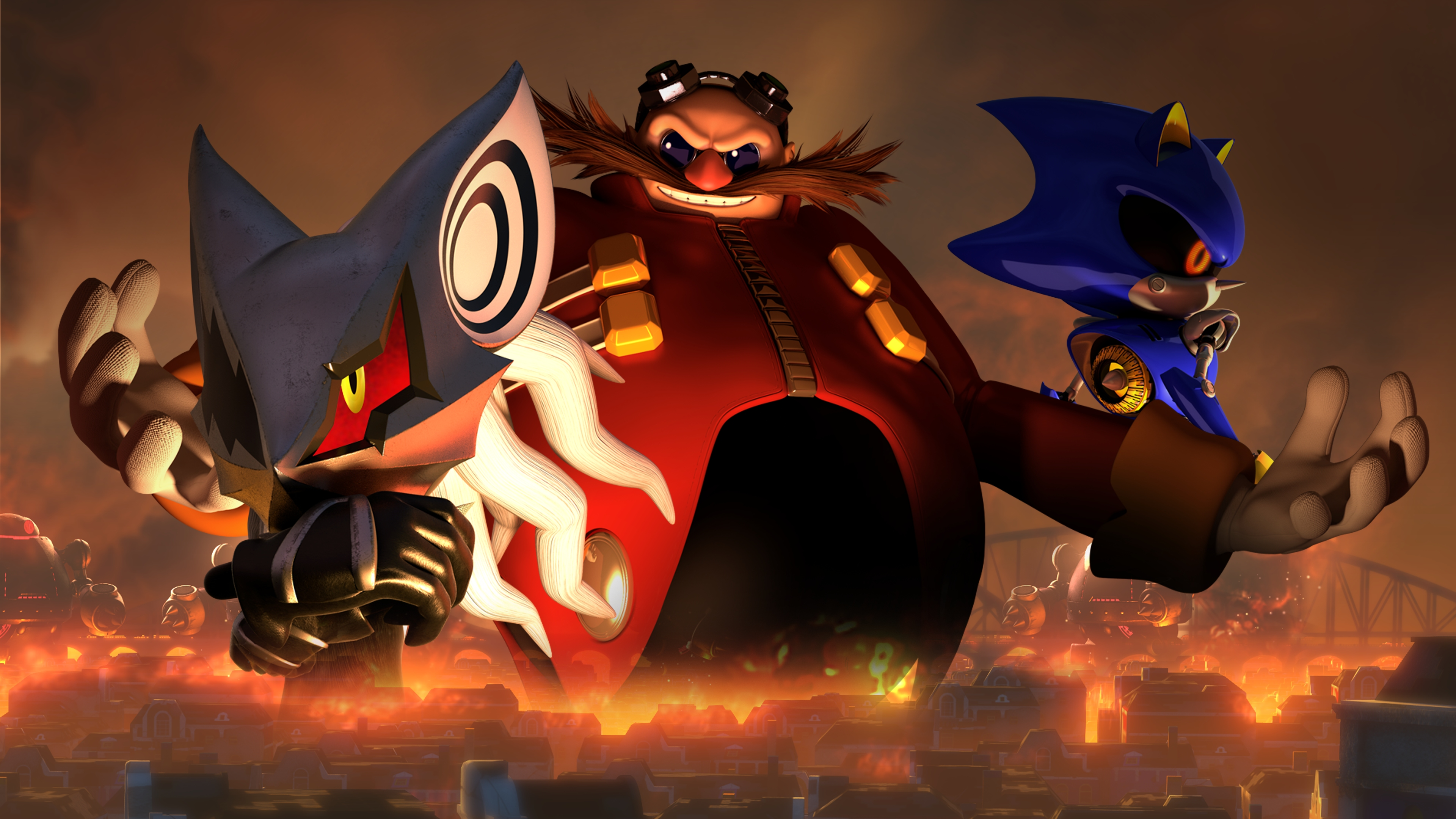 Sonic Forces 4k Ultra Hd Wallpaper Background Image 3840x2160