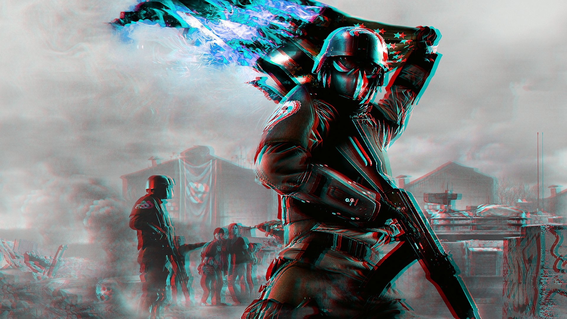 Video Game - Homefront  Soldier Wallpaper