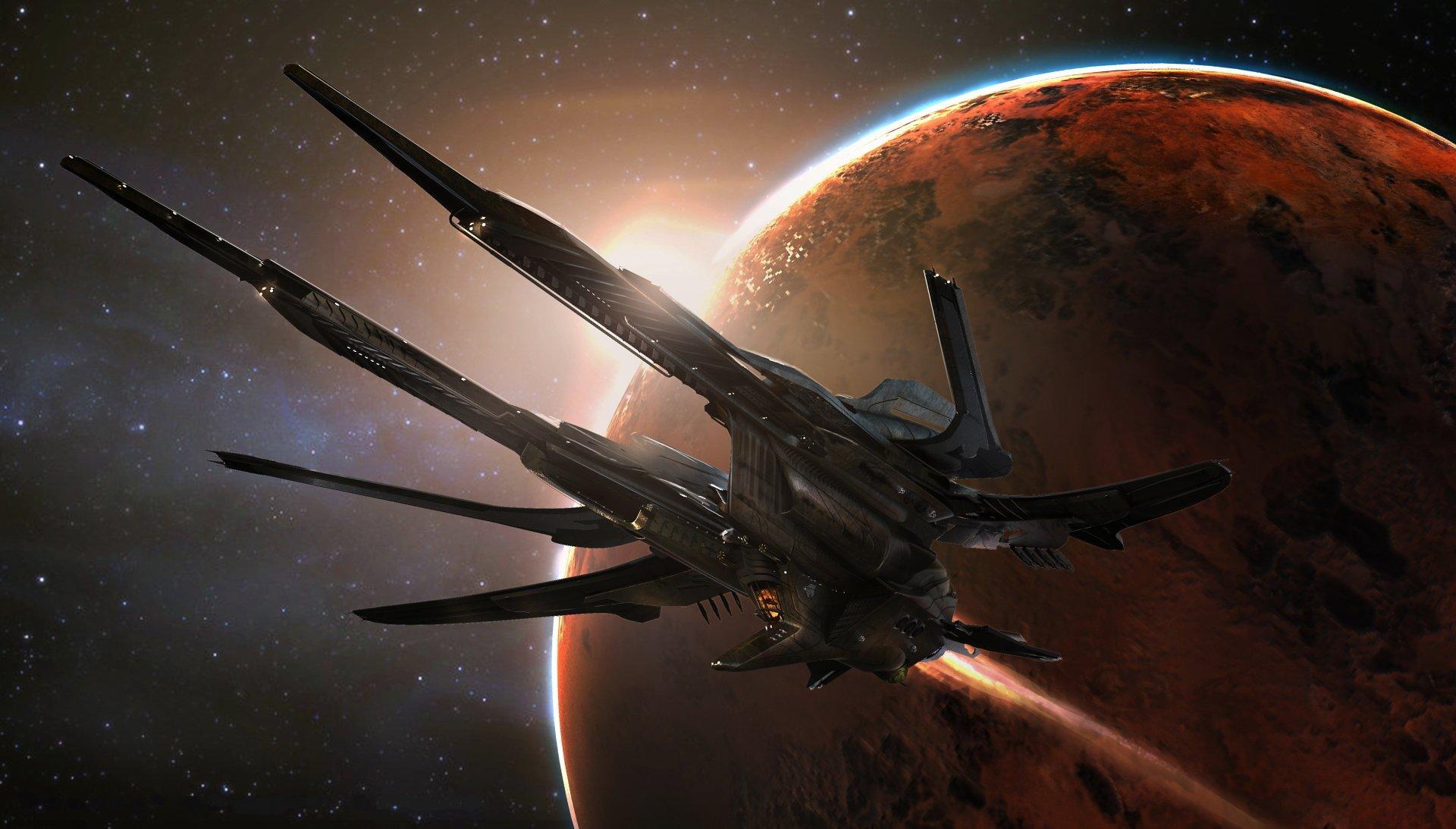 Video Game - Star Citizen  Spaceship Space Wallpaper