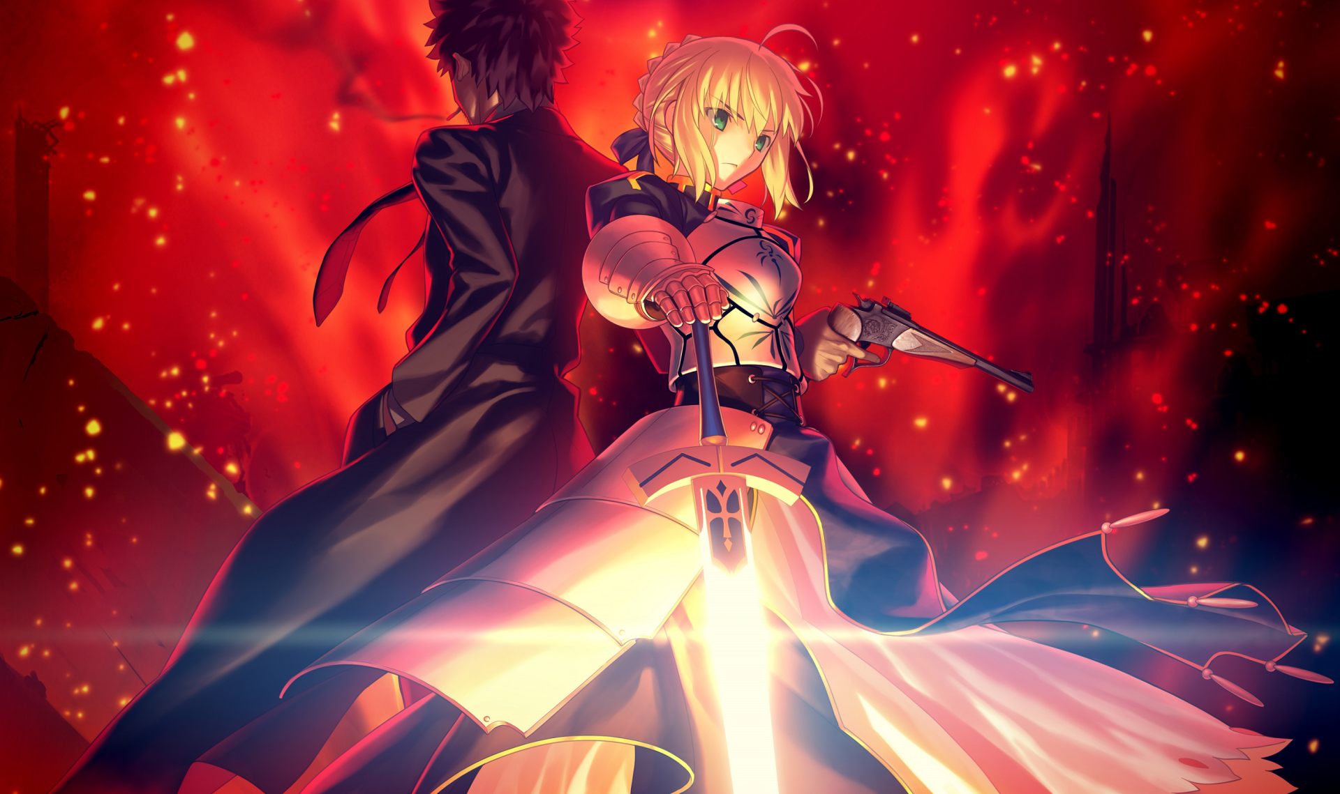 Anime - Fate/Grand Order  Fate/Stay Night Saber (Fate Series) Wallpaper