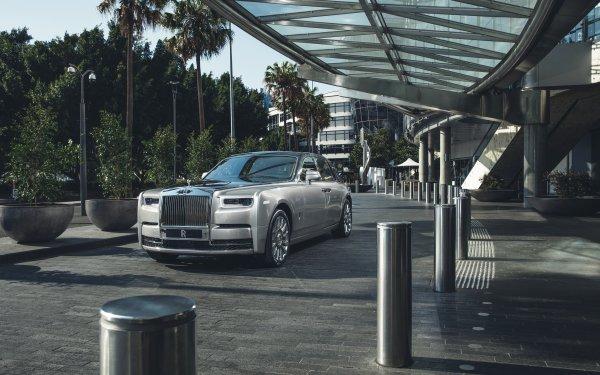 Véhicules Rolls-Royce Phantom  Rolls Royce Rolls-Royce Voiture Silver Car Luxury Car Fond d'écran HD   Image