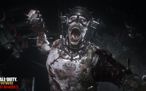 Video Game Call of Duty: WWII Call of Duty Zombie HD Wallpaper | Background Image