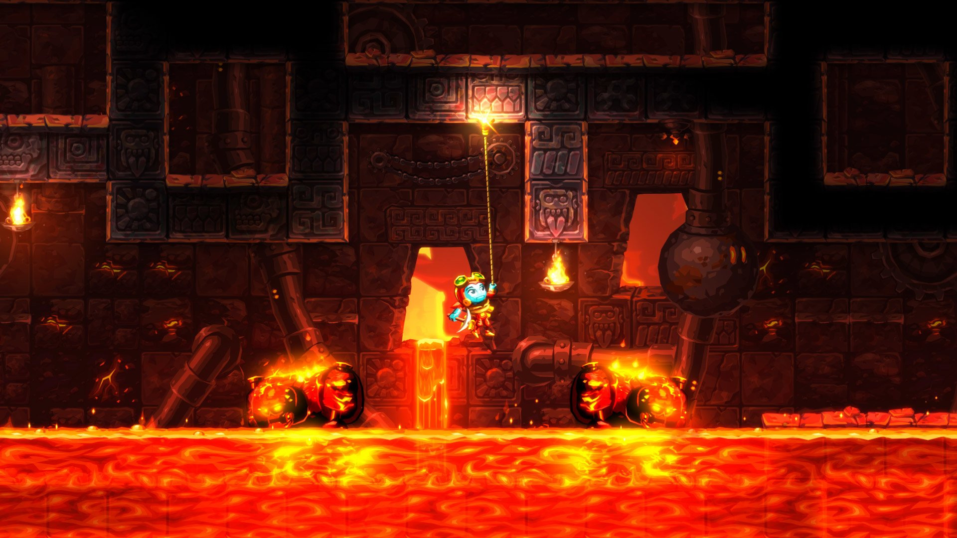 Video Game - SteamWorld Dig 2  Wallpaper