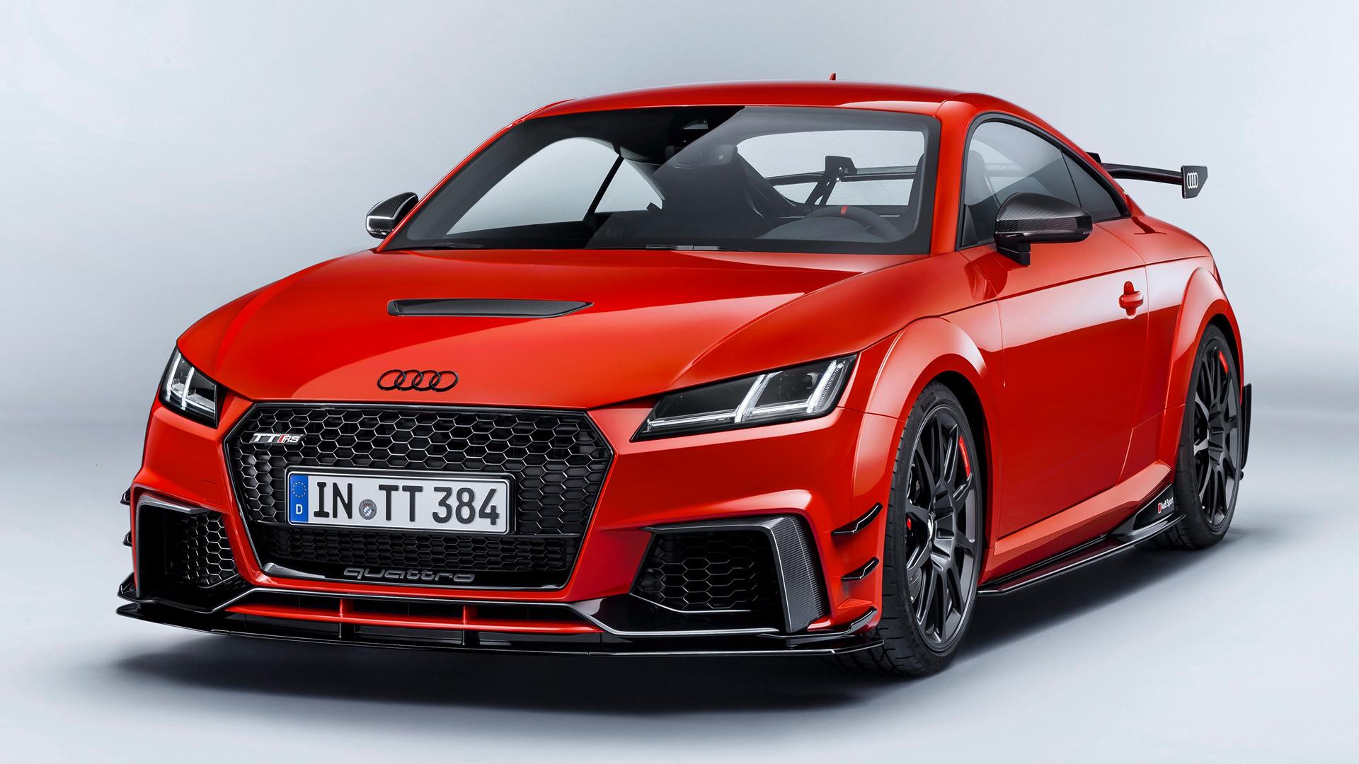 2017 Audi TT RS Coupe performance parts Fond d'écran HD ...