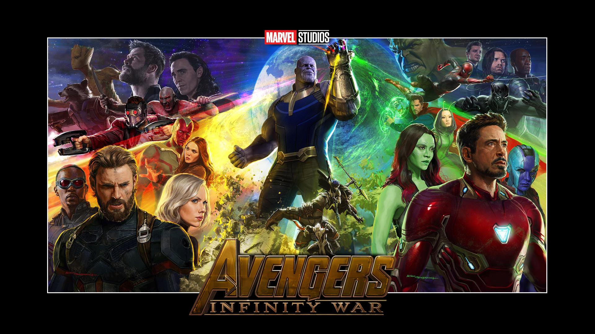 Infinity war movie poster