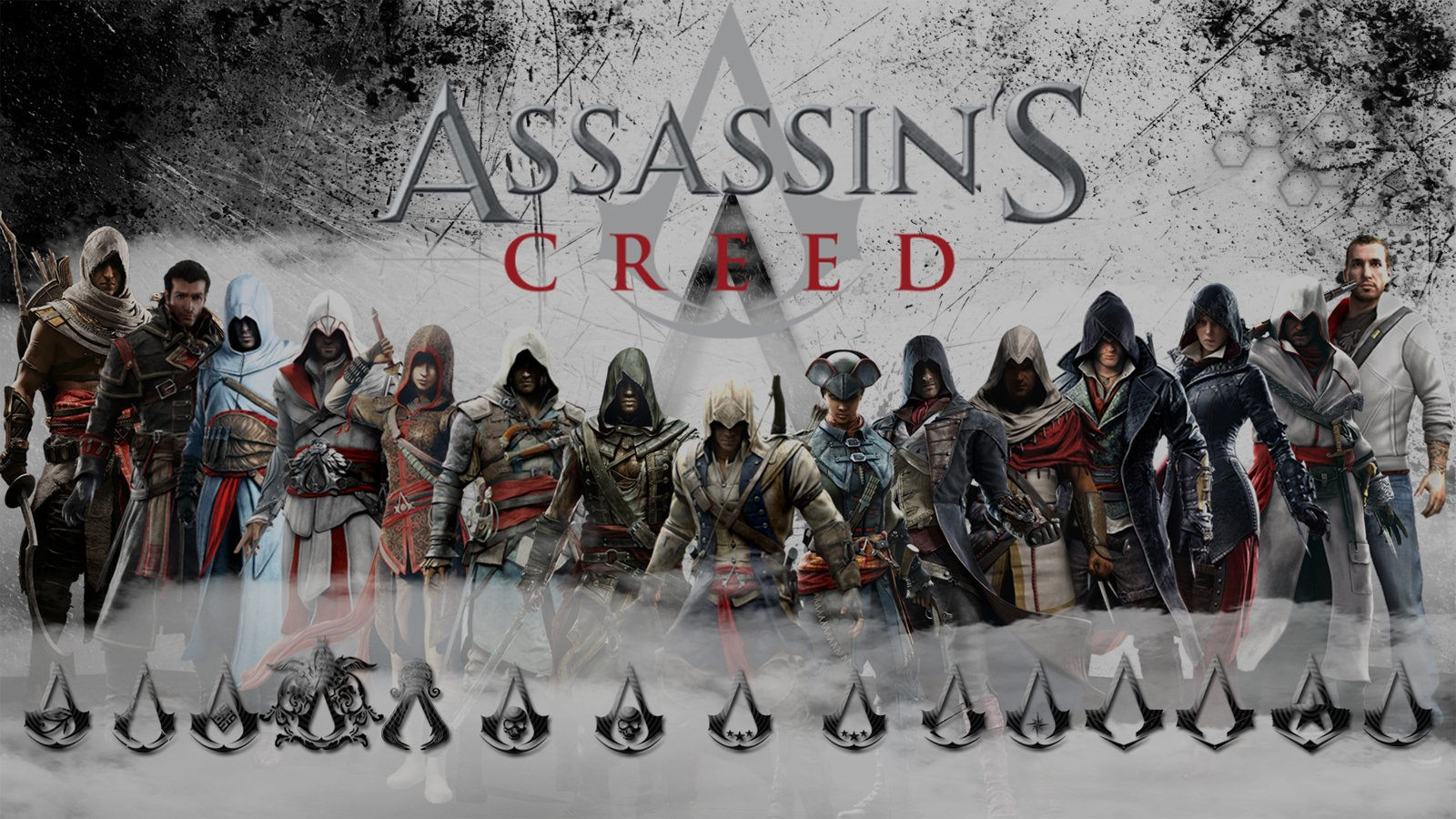 All Assassins Wallpaper And Background Image 1600x900 Id