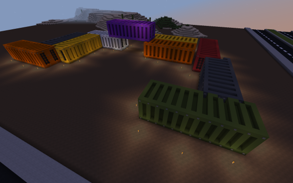 Video Game Minecraft Voxel Container HD Wallpaper | Background Image