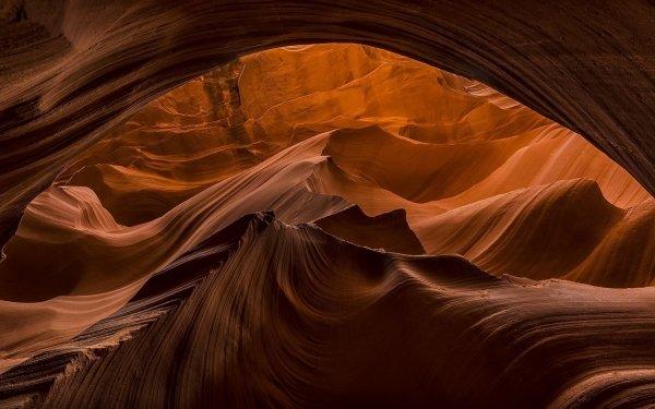 Earth Antelope Canyon Canyons Canyon Nature Rock HD Wallpaper | Background Image