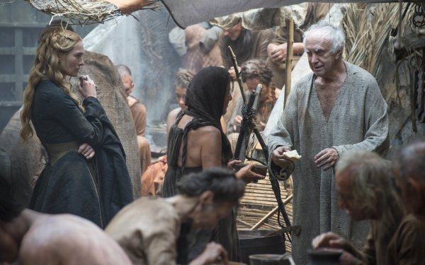 TV Show Game Of Thrones Cersei Lannister High Sparrow Lena Headey Jonathan Pryce HD Wallpaper | Background Image